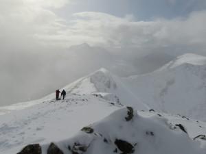 Bienn Eighe Ridge